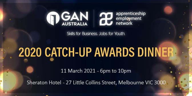 2020 AEN Catch-up Awards Dinner Banner