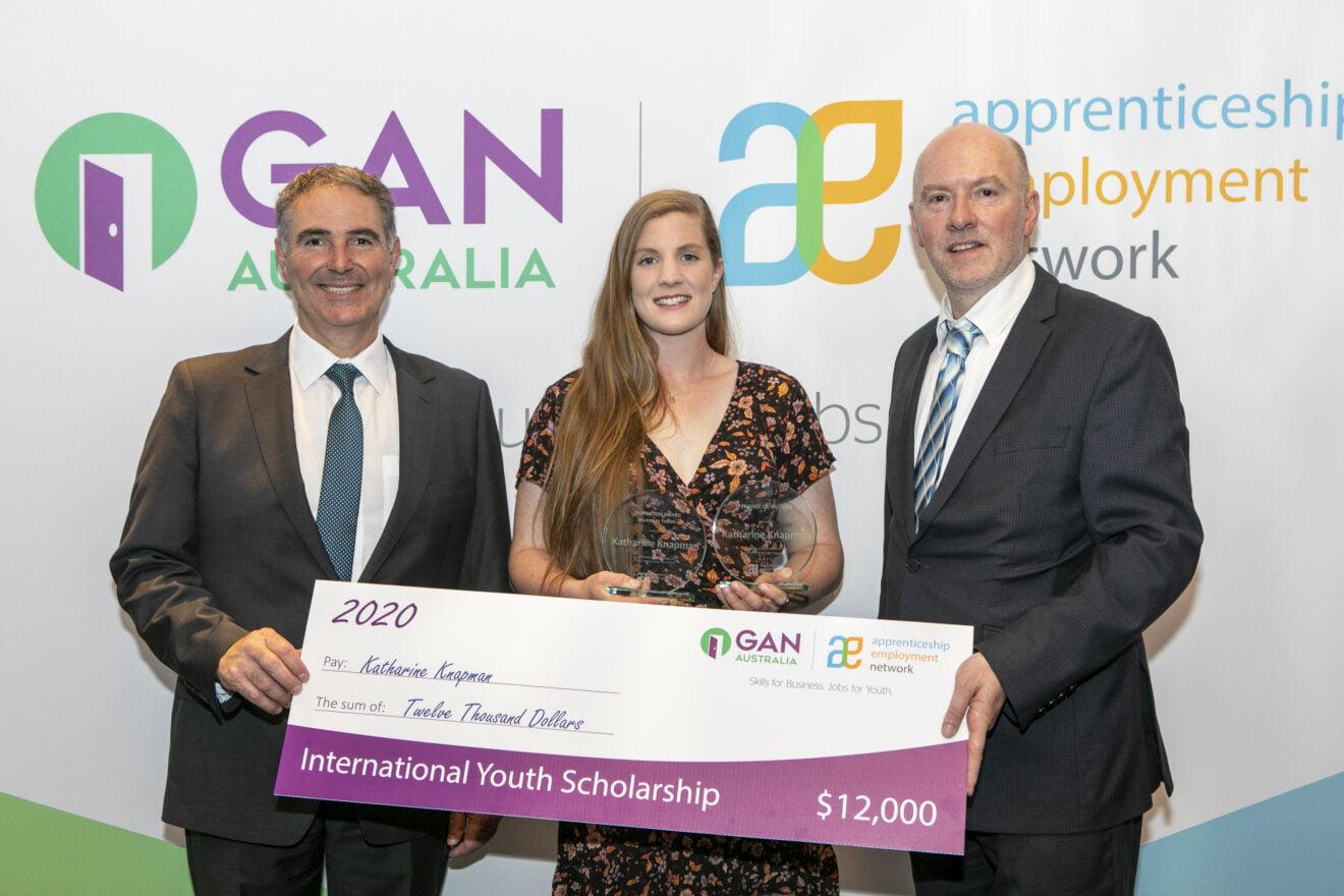 AEN Awards - Scholarship Winner Katharine Knapman