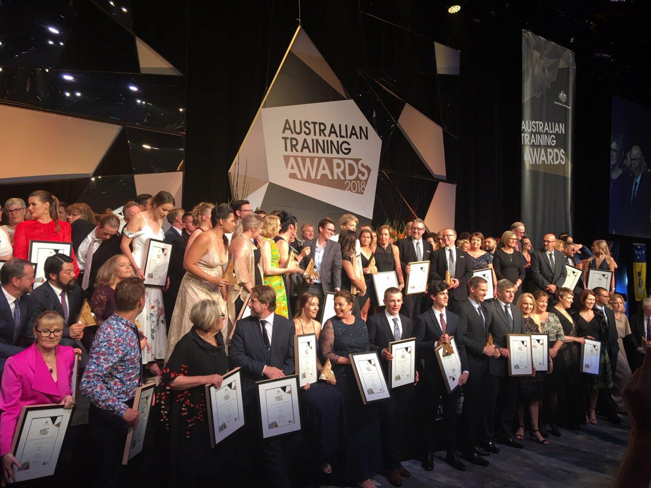 Australian Training Awards 2018