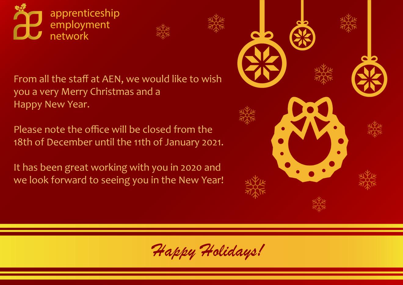 Christmas Card 2020 - Newsletter + Website (HD)