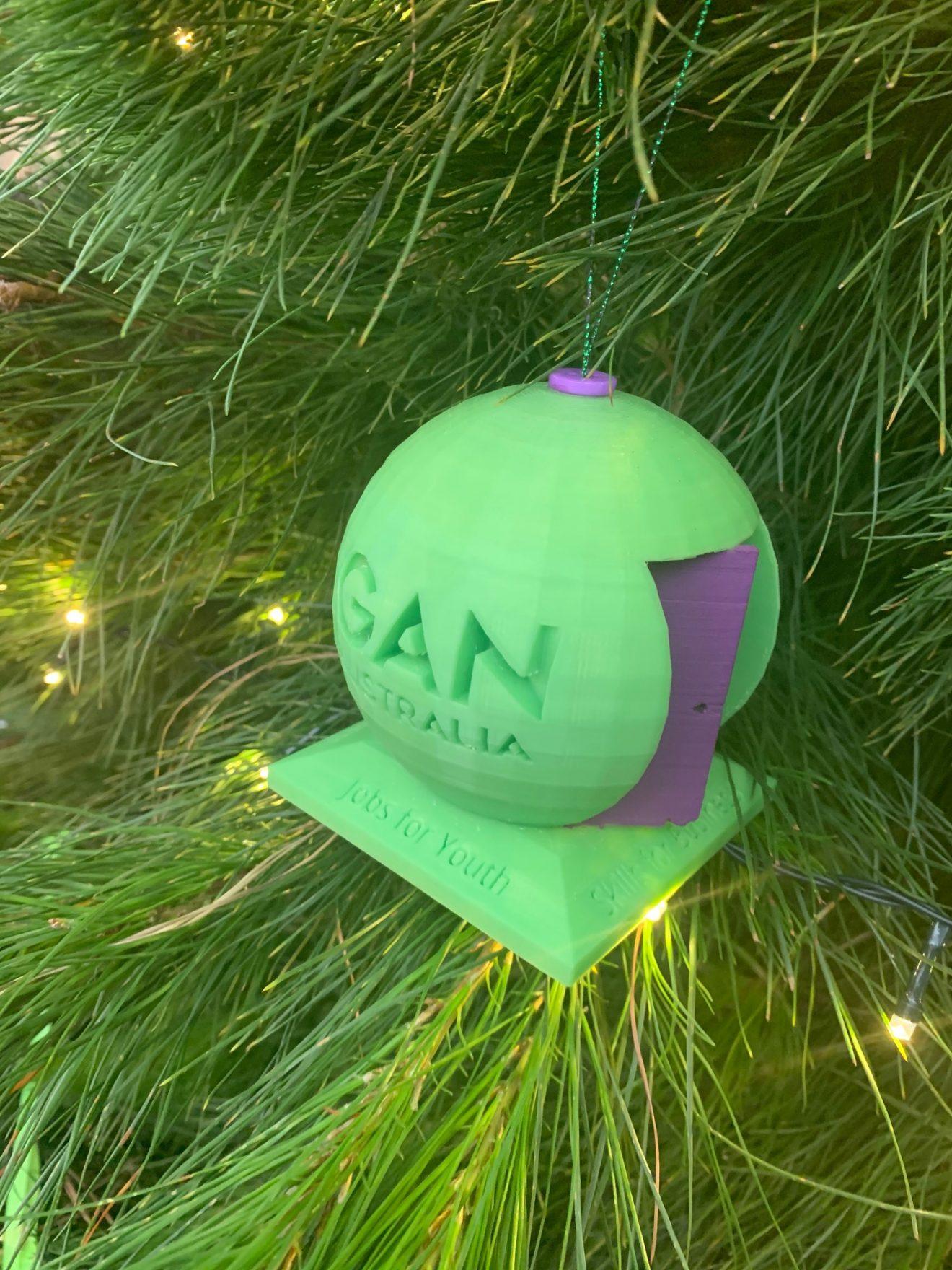 GAN Ornament