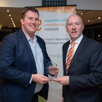 GTO Service Excellence Award AGA Mark Knox with Gary Workman