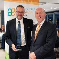 GTO Service Excellence Award Westvic Brendan Hawkins with Gary Workman