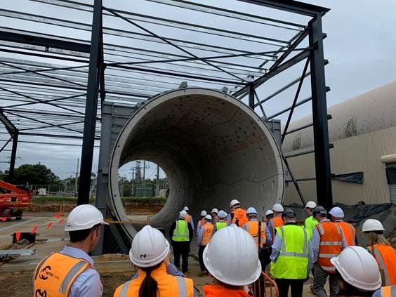 Holmesglen Tunnelling Centre 1