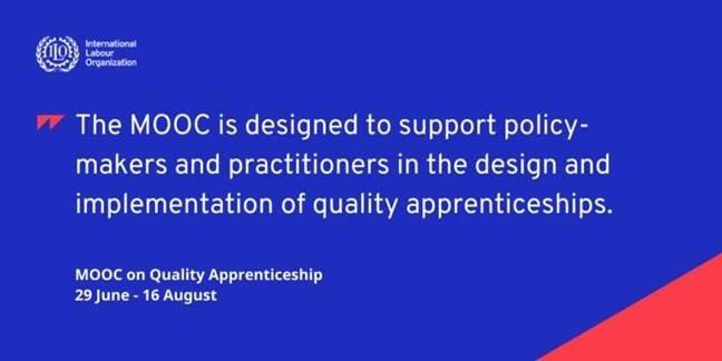 ILO Launch MOOC on Quality Apprenticeships
