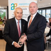 Lifetime Achievement Award Alan Brown with Gary Workman