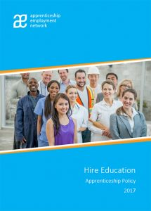 AEN Hire Education Apprenticeship Policy 2017 Cover