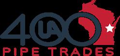 UA 400 Pipe Trades Logo