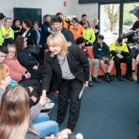 Minister Tierney with BGT Apprentices